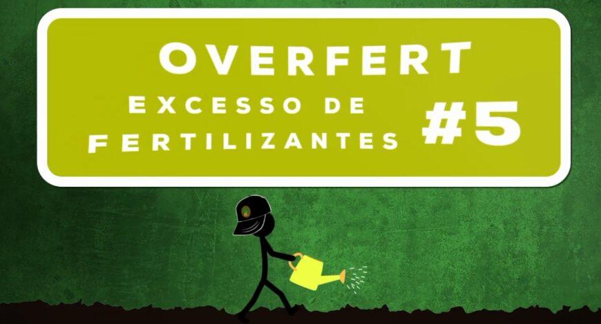 excesso de nutrientes Overfert